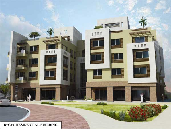 Project - B+G+4 RESIDENTIAL BUILDING